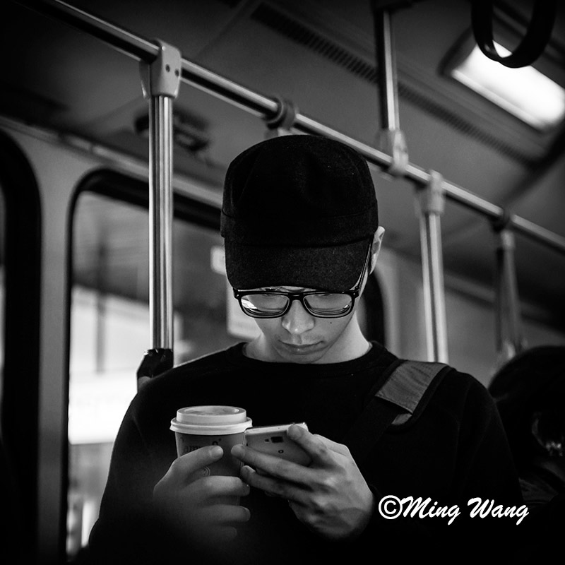 Smart Phone Time - City Bus, Sydney 2014
