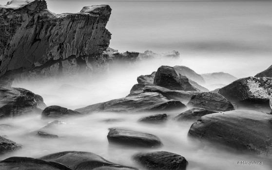 Black & White Seascape 6