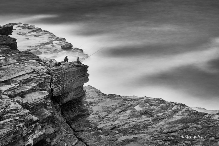 Black & White Seascape 24
